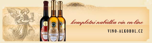 Kompletní nabídka vín on-line